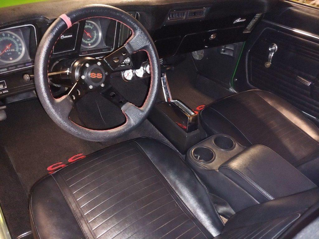 restored 1969 Chevrolet Camaro SS custom