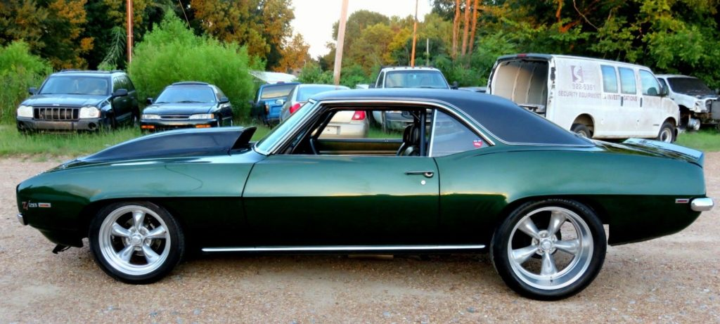 restored 1969 Chevrolet Camaro SS RS Z28 custom