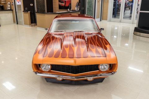 Rotisserie Built 1969 Chevrolet Camaro Pro Touring custom for sale