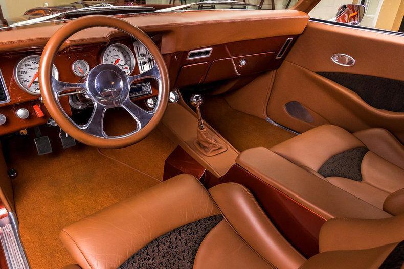Rotisserie Built 1969 Chevrolet Camaro Pro Touring custom