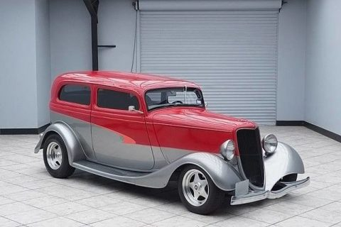 sharp 1934 Ford Sedan custom for sale
