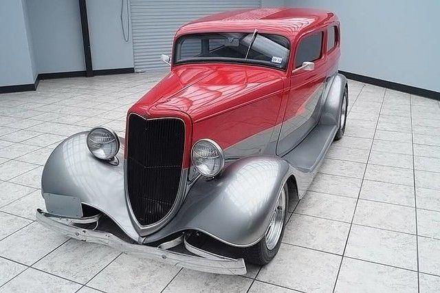 sharp 1934 Ford Sedan custom