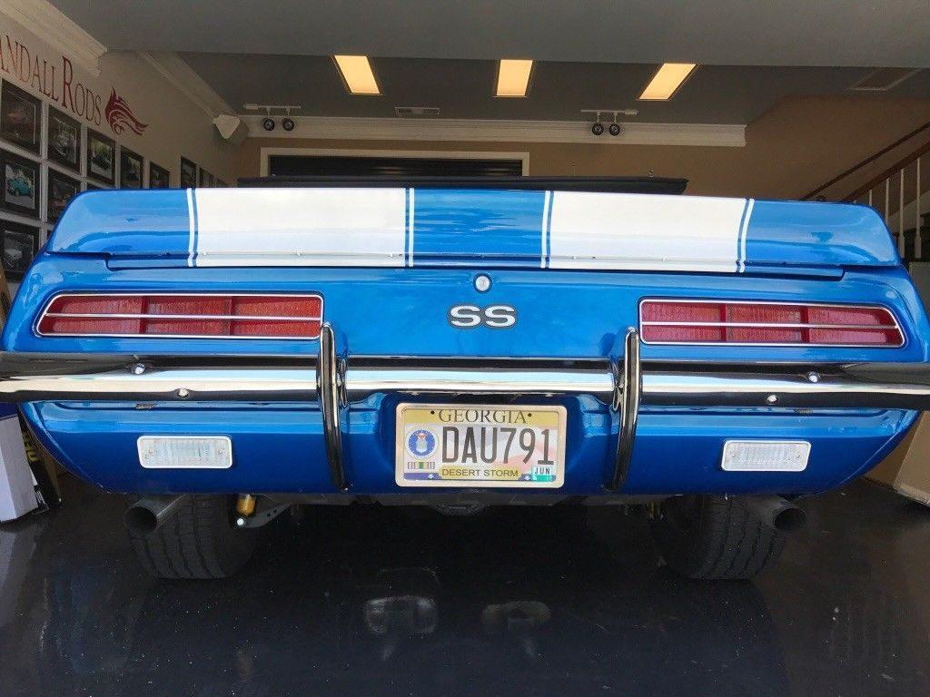 upgraded engine 1969 Chevrolet Camaro custom
