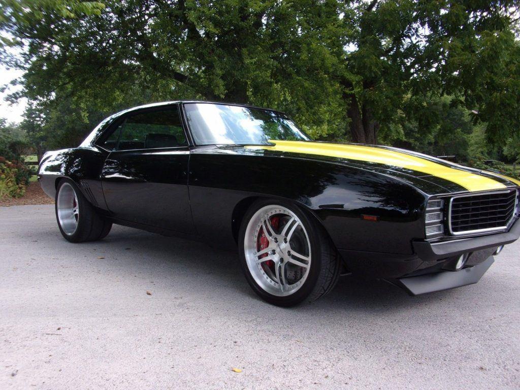 very nice restomod 1969 Chevrolet Camaro custom