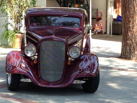 well built 1934 Chevrolet custom for sale