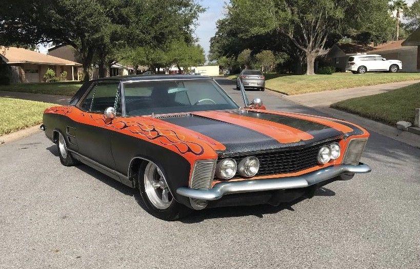 badass 1964 Buick Riviera custom