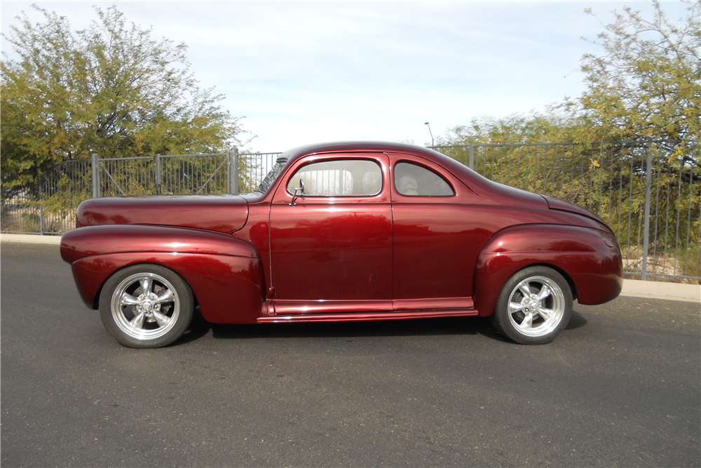 chopped 1941 Ford Deluxe custom