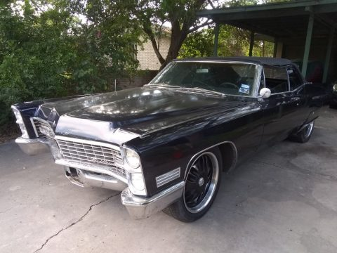 new top 1967 Cadillac DeVille Convertible custom for sale