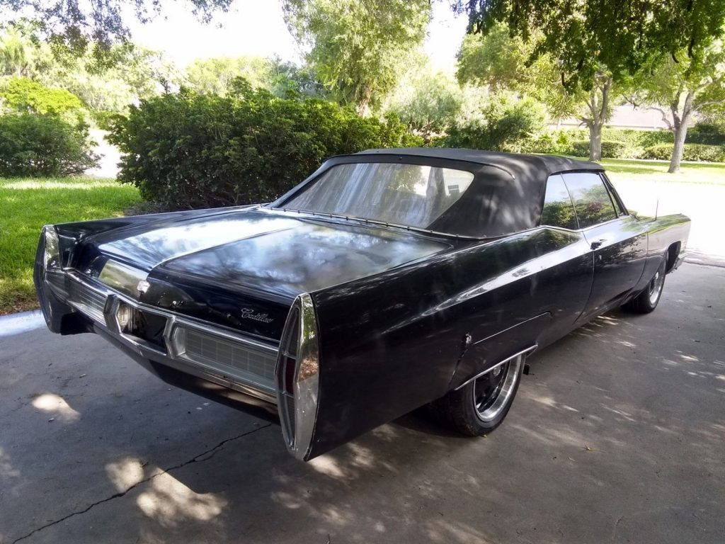 new top 1967 Cadillac DeVille Convertible custom