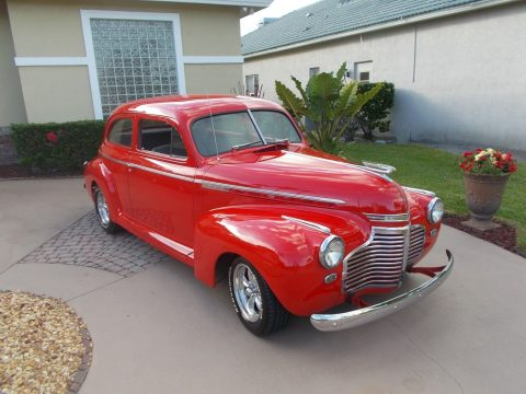 amazing 1941 Chevrolet Master Deluxe custom for sale