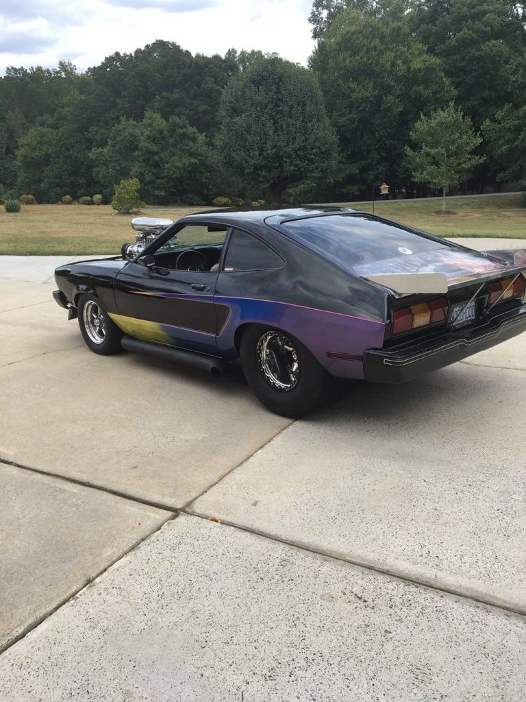 badass 1977 Ford Mustang Custom