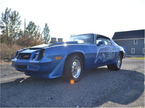 badass 1979 Chevrolet Camaro Z28 Pro Street custom for sale