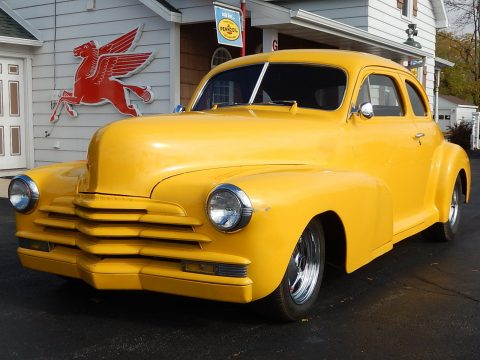 clean 1947 Chevrolet 5 Window Coupe custom for sale