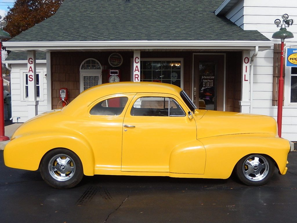 clean 1947 Chevrolet 5 Window Coupe custom