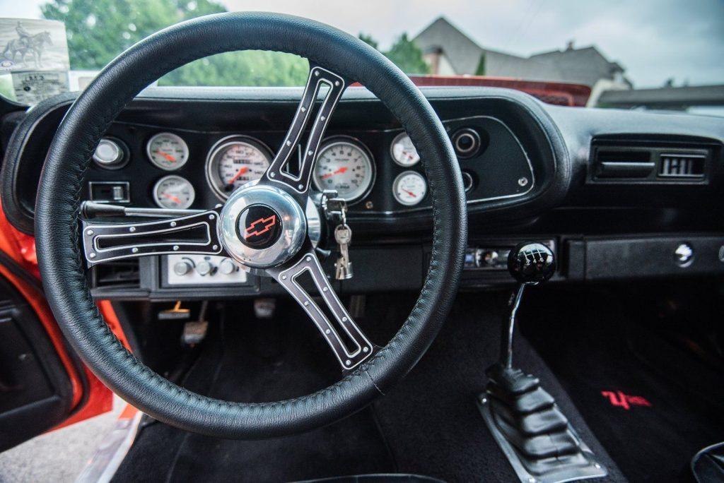 nicely modifieed 1971 Chevrolet Camaro Z28 custom
