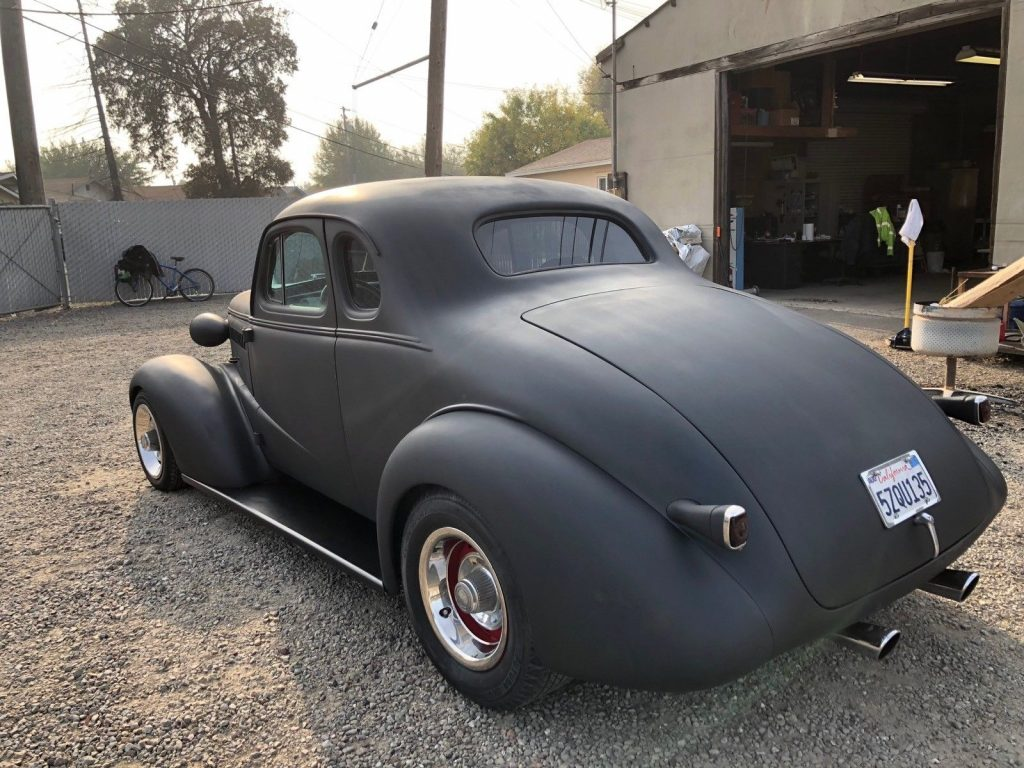 project 1938 Chevrolet Coupe custom