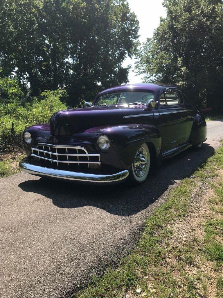 traditional 1946 Ford lead sled custom