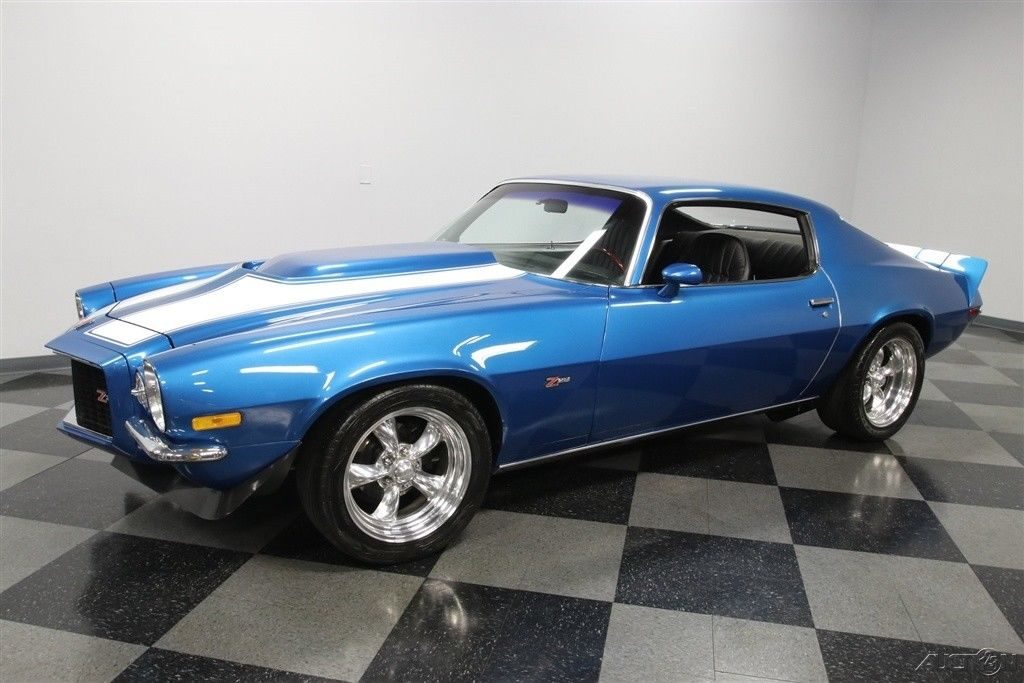 upgraded 1971 Chevrolet Camaro Z/28 custom