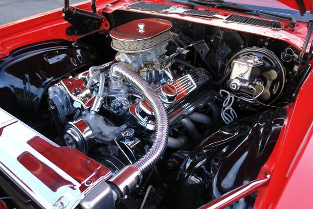 upgraded engine 1971 Chevrolet Camaro custom