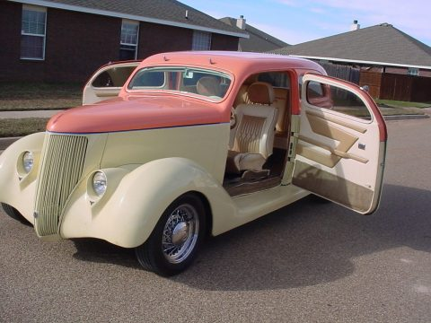 well modified 1936 Ford 2 Door Sedan custom for sale