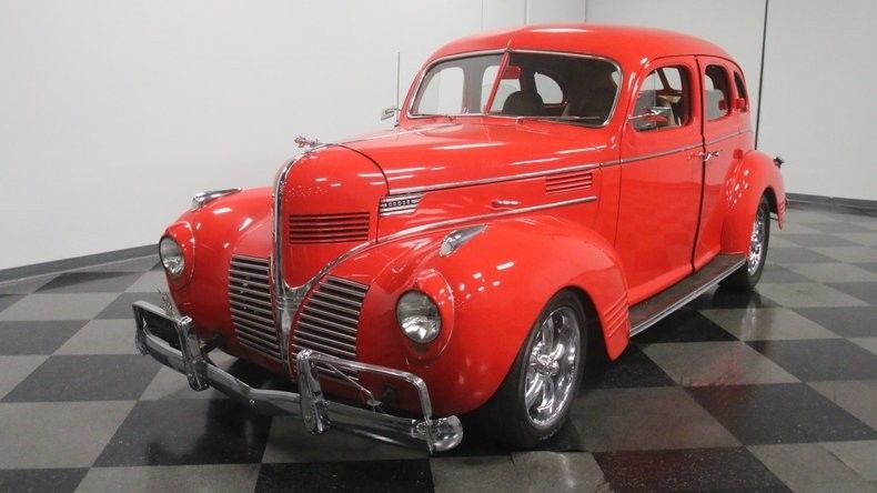 Chevrolet powered 1939 Dodge Sedan custom