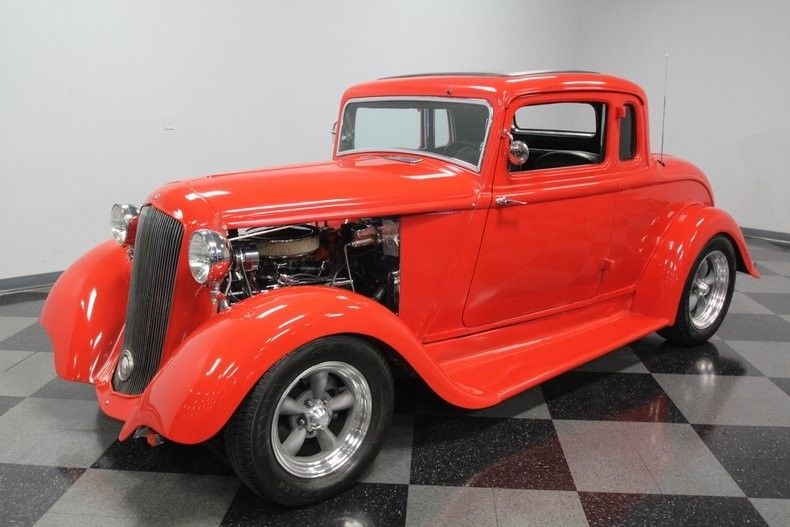 Chevy powered 1933 Plymouth 5 Window Coupe custom