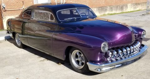 chopped 1951 Mercury coupe custom for sale