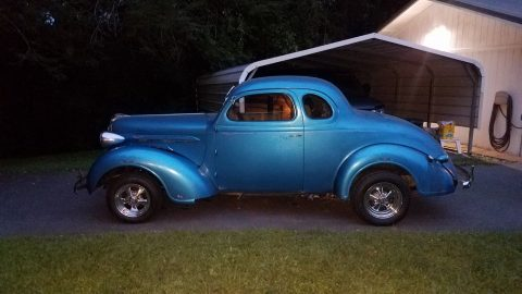 gasser 1937 Plymouth coupe custom for sale