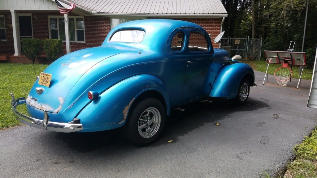 gasser 1937 Plymouth coupe custom