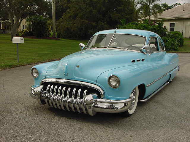 lead sled 1950 Buick custom