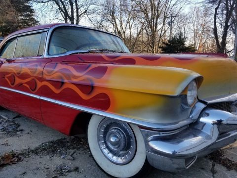 needs TLC 1956 Cadillac Coupe DeVille custom for sale