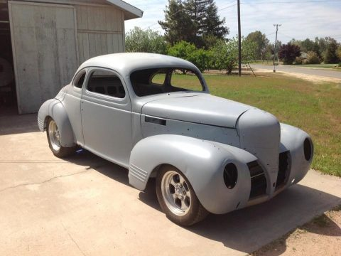 new engine 1939 Dodge D11 Club Coupe custom for sale