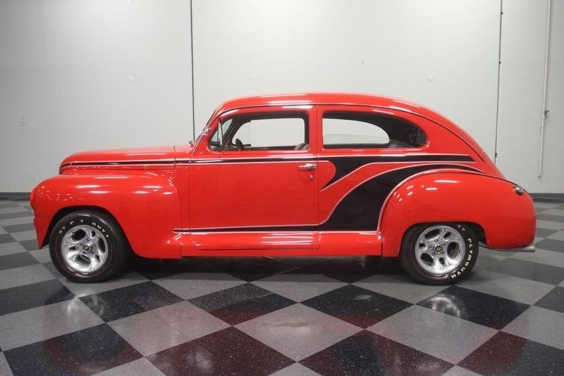 nice build 1947 Plymouth Special Deluxe custom
