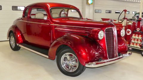 nicely modified 1937 Dodge Business Coupe custom for sale