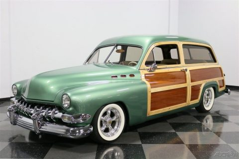 one of a kind 1951 Mercury Woody Wagon custom for sale