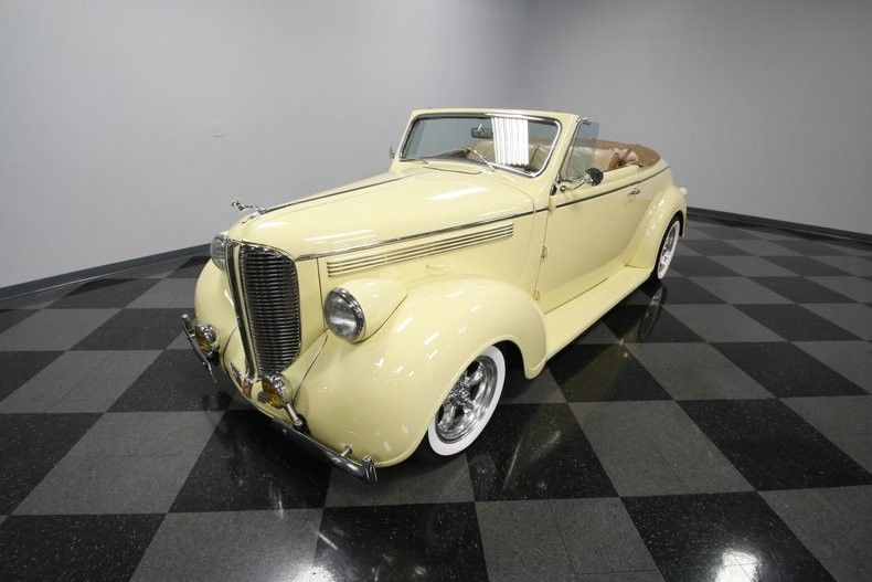 rare 1938 Dodge D8 Coupe Convertible custom
