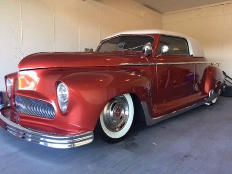 removable top 1949 Plymouth custom for sale