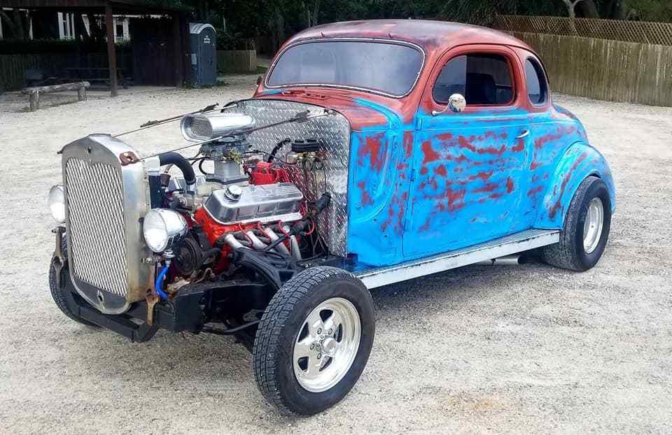 Street Rod 1937 Plymouth Coupe custom