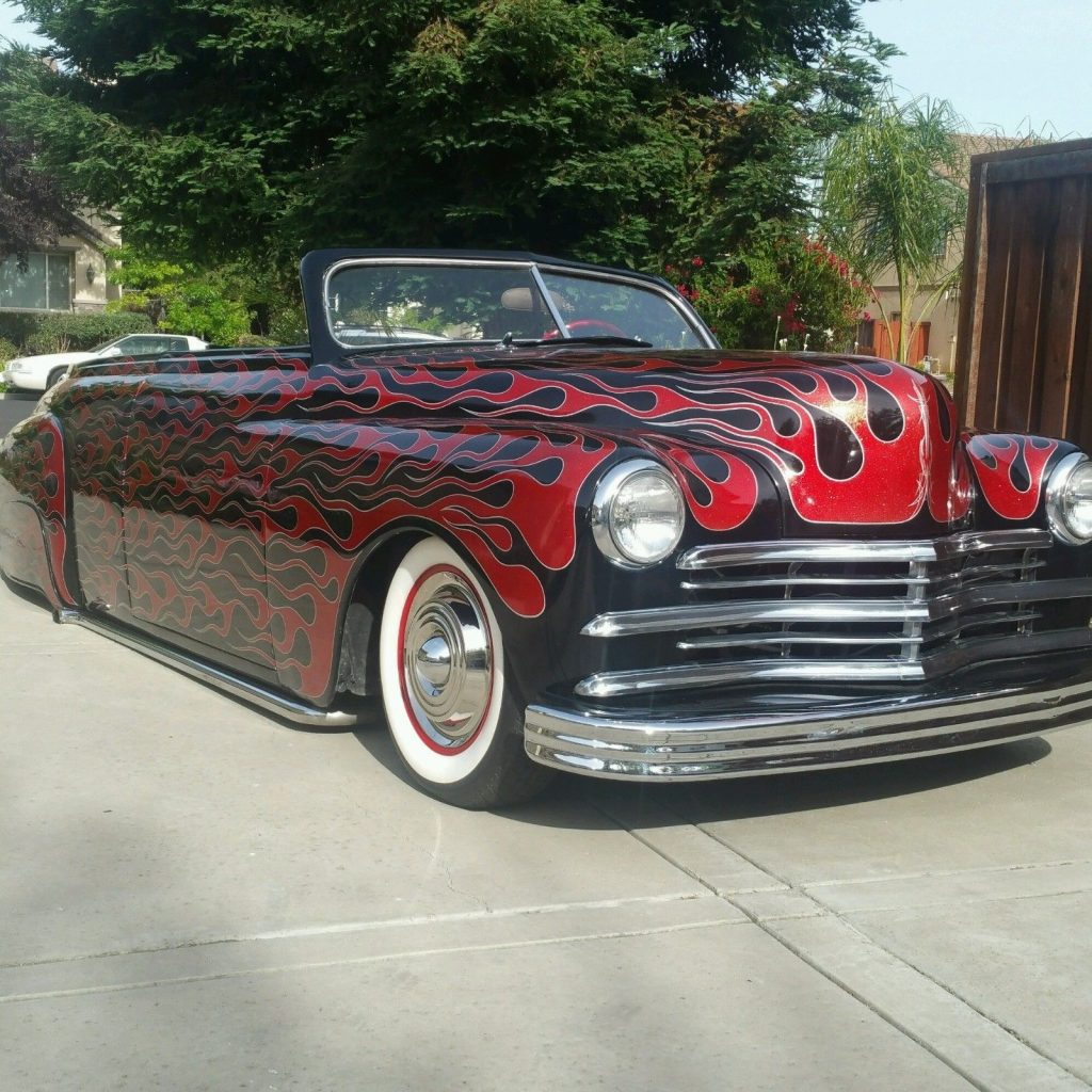 totally redone 1949 Plymouth Deluxe convertible custom