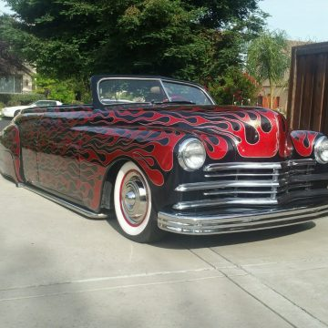 totally redone 1949 Plymouth Deluxe convertible custom for sale