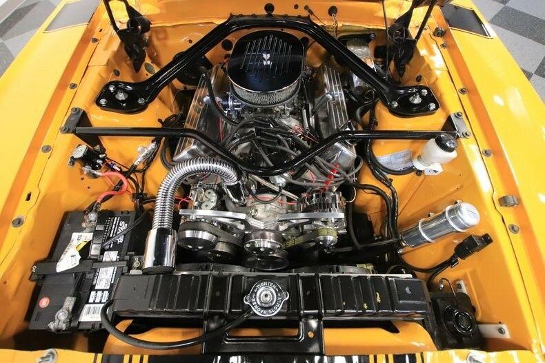 Boss 302 Tribute 1970 Ford Mustang Convertible custom