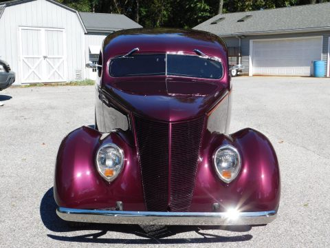 chopped 1937 Ford Sedan custom for sale