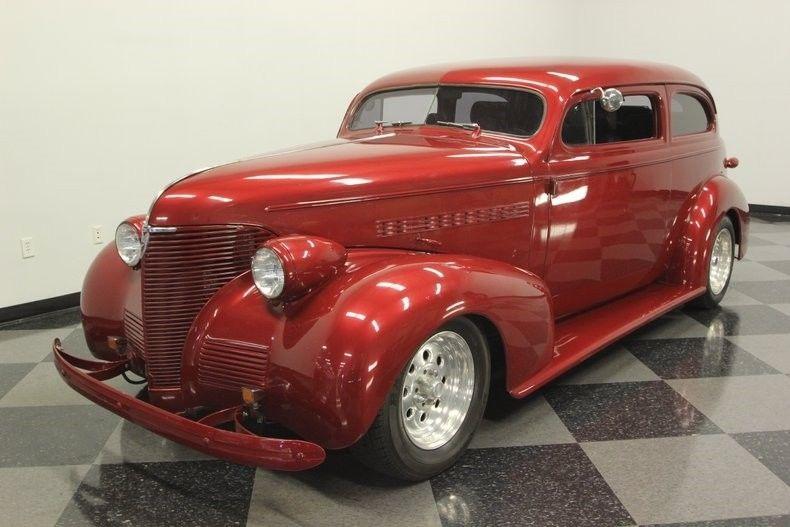 chopped 1939 Chevrolet 85 street rod custom