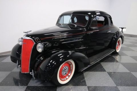 crate small block 1937 Chevrolet Master Deluxe custom for sale