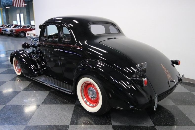 crate small block 1937 Chevrolet Master Deluxe custom