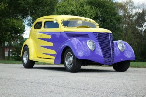 detailed 1937 Ford Coupe custom for sale