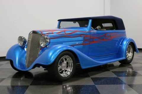 fuel injected 1934 Chevrolet Cabriolet custom for sale