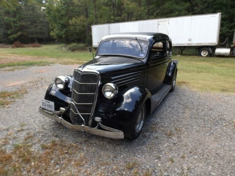garaged 1935 Ford 2 Door Sedan custom for sale