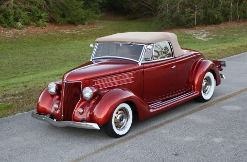 highly detailed 1936 Ford roadster custom for sale