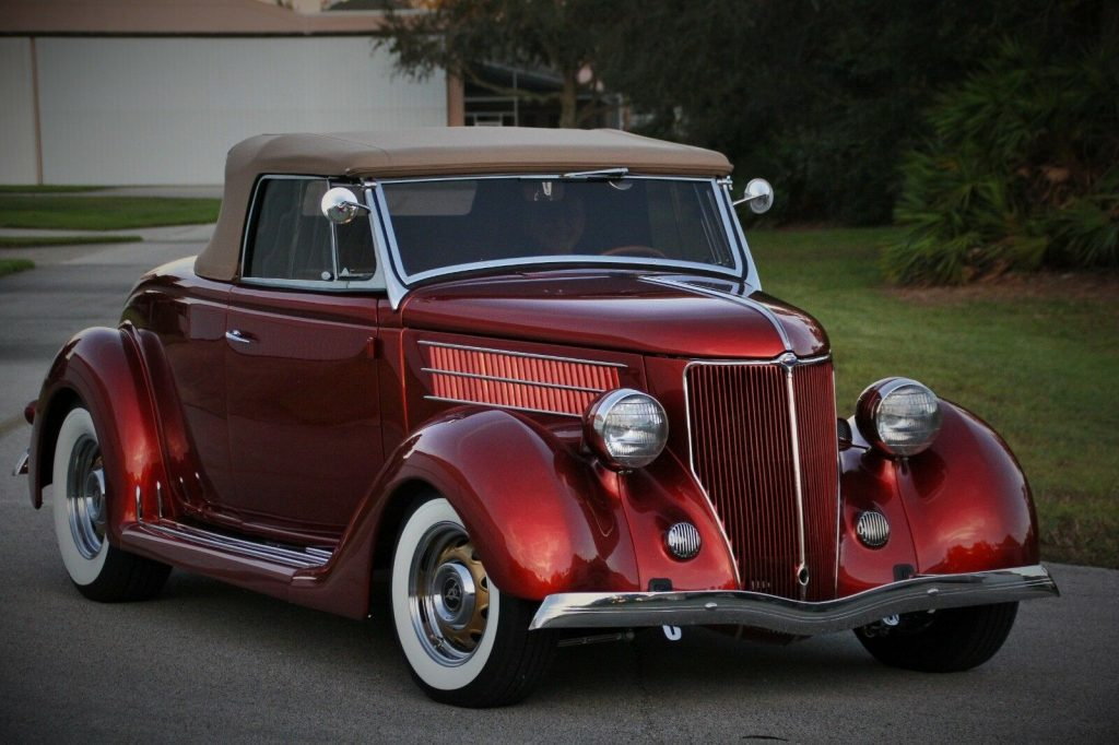 highly detailed 1936 Ford roadster custom